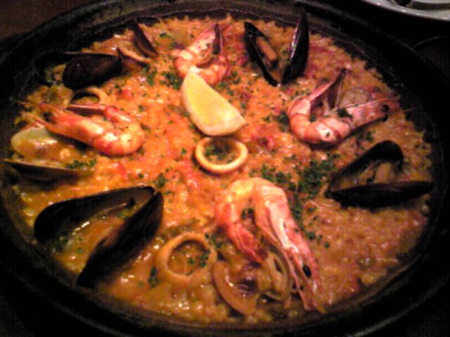 新橋でスペイン料理